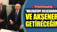 MAZBATAYI KILIÇDAROĞLU VE AKŞENER'E GÖTÜREMEYİNCE ÇOK KIZDI!..