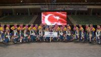 Yarış Ortaokulu halk oyunlarında Türkiye üçüncüsü oldu