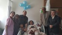 Gazeteci Muzaffer Karakoyun'un torun sevinci