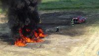 Uçak kazası tatbikatı başarı ile gerçekleştirildi