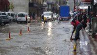 Balıkesir için sağanak yağış ve su baskını uya