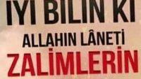 ALLAH'IN LANETİ