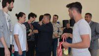 Rektör Prof. Dr. İlter Kuş'tan Başarılı Sporculara Tebrik