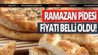 Balıkesir'de Ramazan pidesi 2,5 liradan satılacak