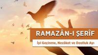 Ramazân-ı Şerîf, İnsanlarla İyi Geçinme ve Dostluk Ayıdır