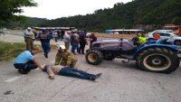 Havran'da can pazarı yaşanan kaza ucuz atlatıldı: 4 yaralı