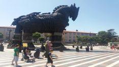 Truva atı Kazdağı köknarından yapılmış