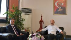 Balıkesir Milletvekili Adil Çelik'ten Rektöre Ziyaret