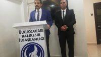 ÜLKÜ OCAKLARI GENEL BAŞKANI SİNAN ATEŞ BALIKESİR'DE