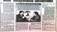 Ömrünü MHP'nin bitmesine adayan dönek!