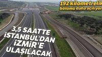 İstanbul-İzmir Otoyolu'nun (Balıkesir)192 kilometrelik bölümü daha açılıyor