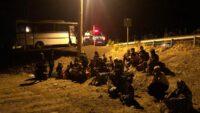 137 Düzensiz Göçmen Yakalandı.