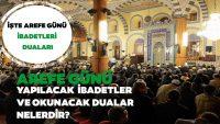 Arefe günü ve teşrik tekbirleri