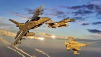 Irak'ın kuzeyinde 13 hedef vuruldu