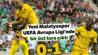 Olimpija Ljubljana 0- 1 Yeni Malatyaspor