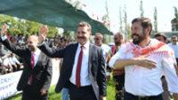 Başkan Yılmaz Yağcıbedir Festivali'ne Katıldı