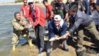 Amatör Balıkçılar Şamlı'da Olta Attı