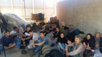 73 Düzensiz Göçmen Yakalandı.