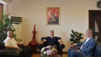 Balıkesir Milletvekili Mustafa Canbey'den BAÜN Rektörüne Ziyaret