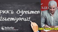 PKK'LI ÖĞRETMENLER OKULLARDAN TEMİZLENMELİ?