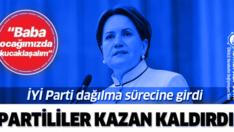 İYİ PARTİLİLER AKŞENER'E KAZAN KALDIRDI