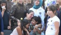 Şehit kızından yürek burkan soru: Annem ağlıyor kim öldü?