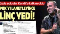 Haluk Levent Diyarbakır annelerine destek verdi terör seviciler linç etti
