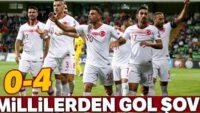 Millilerden gol şov! Moldova 0 – 4 Türkiye