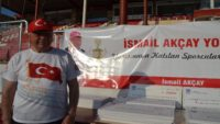 11. Uluslararası İsmail Akçay Yol Koşusu'na yoğun ilgi
