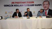 AK Parti Genclik kolları kampı