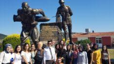 Havran MYO Öğrencileri, Seyit Onbaşı'yı Andı