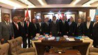 MHP İl Yönetimi'nden Ankara Ziyaretleri
