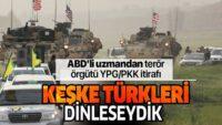Keşke Türkleri dinleseydik