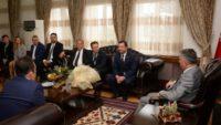 MHP İl Yönetimi Vali Yazıcı'yı Ziyaret Etti