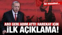 Cumhurbaşkanı Erdoğan'dan harekatla ilgili ilk açıklama