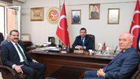 Yücel Yılmaz, Başkanlarla MHP'yi Ziyaret Etti.