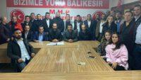 MHP KARESİ İLÇE'DE İLK TOPLANTI GERÇEKLEŞTİRİLDİ