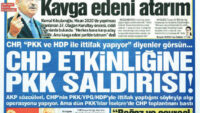 CHP DALKAVUĞU SÖZCÜ GAZETESİ!..MANŞETE BAKIN..