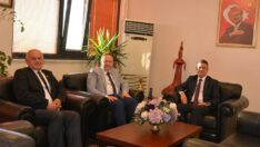 Karesi Belediye Başkanı Orkan'dan BAÜN Rektörüne  Ziyaret