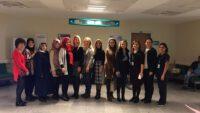 MHP Balıkesir Kadın Kolları'ndan Atatürk Şehir Hastanesine ziyaret