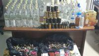 Balıkesir'de yılbaşı öncesi kaçak içki operasyonu.