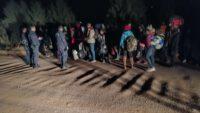 Ayvalık'ta 32 Düzensiz Göçmen Yakalandı.