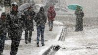 Hafta sonu kar yağışına dikkat!