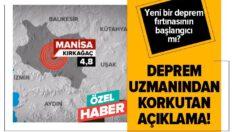 Balıkesirde'de hissedilen Manisa depremi yeni deprem fırtınasının başlangıcı olabilir…