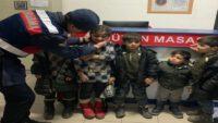 Afganistan Uyruklu 25 Düzensiz Göçmen Yakalandı.