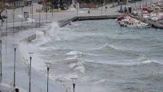 Kuzey Ege Denizi'nde Fırtına Bekleniyor!