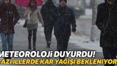 BALIKESİR VE BAZI İLLERDE KAR YAĞIŞI BEKLENİYOR!..