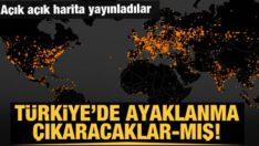 Dünyayı tedirgin eden harita! Türkiye'yi de hedef aldılar