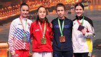 3 altın, 1 gümüş ve 2 bronz madalya! Millilerimizi tebrik ediyoruz..