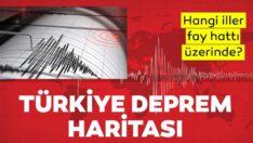 Türkiyedepremharitası